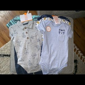 Just one you by carters 6m onesie and pants NWT